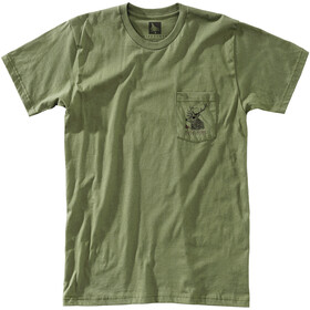 Hippy Tree Buck T-Shirt Men military
